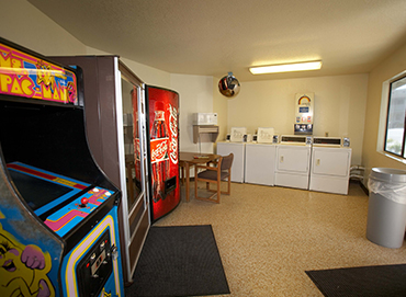 GAME ROOM, VENDING AND GUEST LAUNDRY